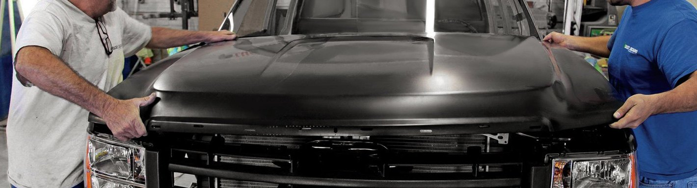 Jeep Willys Auto Body Hoods - 1951
