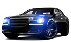 Chrysler 300 Projector Headlights