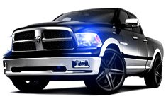Dodge Ram Projector Headlights