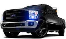 Ford F-250 Projector Headlights
