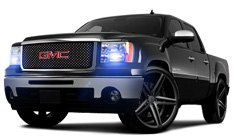 GMC Sierra Off-Road Lights