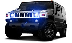Hummer H2 Off-Road Lights