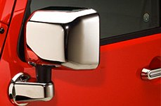 SES Trim Chrome Mirror Covers