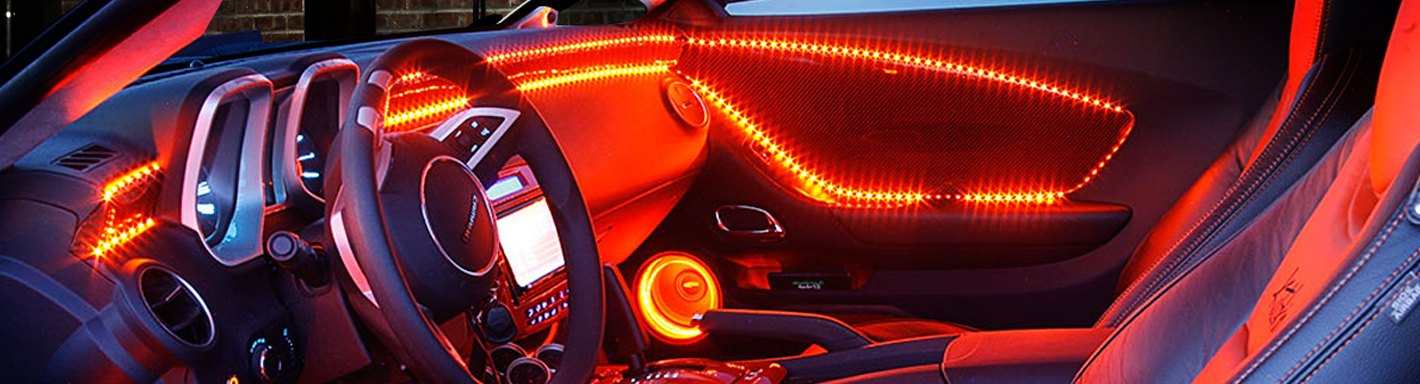 car truck interior led lights custom multicolor. Black Bedroom Furniture Sets. Home Design Ideas