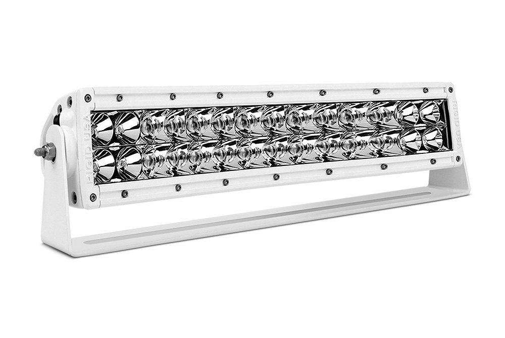 Off road led light bars for truck jeeps suvs carid rigid industries led light bar with white housing mozeypictures Image collections
