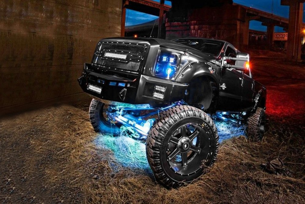 Led Underbody Lights Tubes Rock Lights Wireless