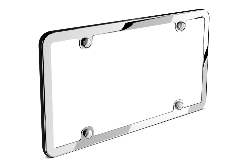 Custom License Plate Frames | Personalized, Covers, Logos — CARiD.com