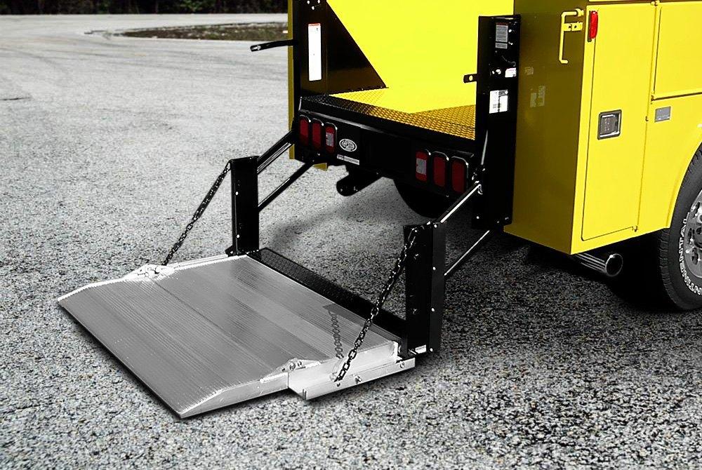 Hydraulic Lift Tailgate : Truck lift gates hydraulic power pickup van utility