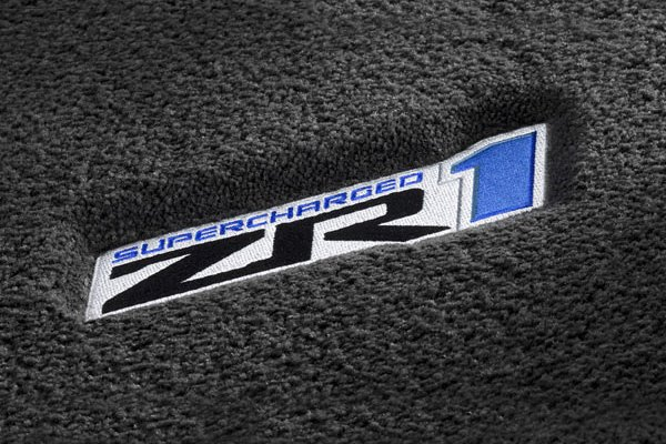 Delightful Gray Floor Mat With Supercharged ZR1 Logo ...