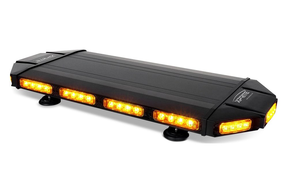 Mini light bars amber blue red magnetic led lighting carid black hawk led light bar aloadofball Image collections