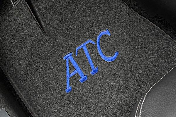 Monogrammed Floor Mats >> Monogrammed Floor Mats Personalized Custom Fonts Carid Com