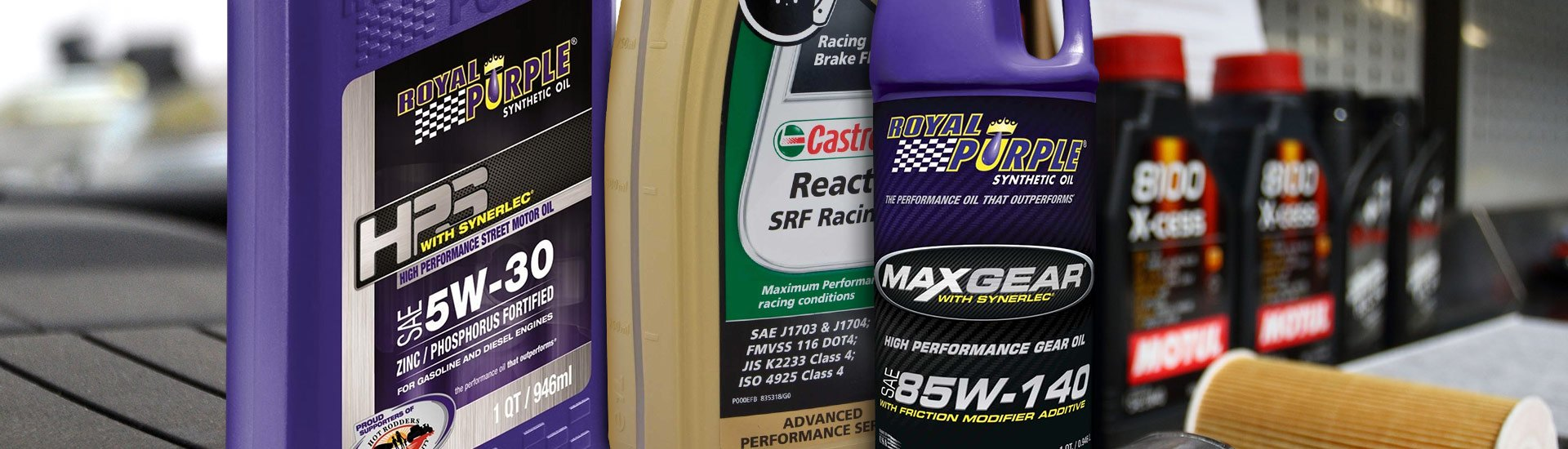 Oils, Fluids, Lubricants | Motor, Brake, Transmission