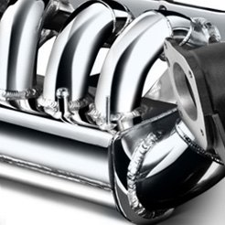 Weapon-R - Chrome Intake Manifold