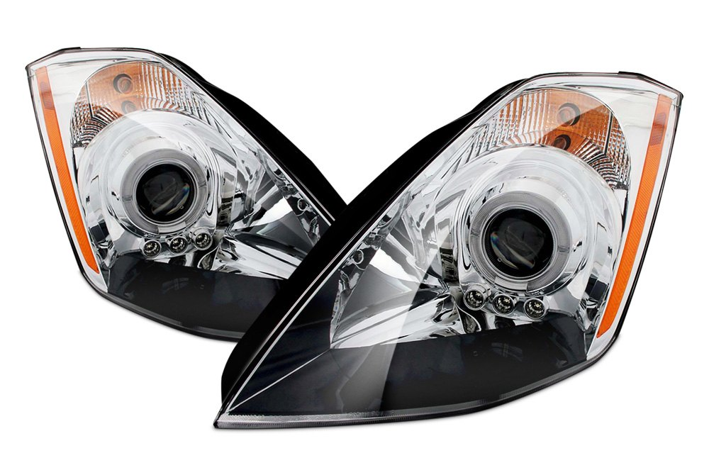 Custom Projector Headlights Halos LEDs CARiDcom