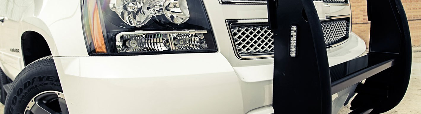 Chevy Silverado Grill Guards - 2005