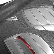 Rear Deck Cover Gray