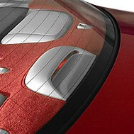 Rear Deck Cover Red
