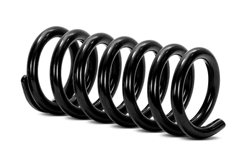 Coil springs variable constant rate seats insulators