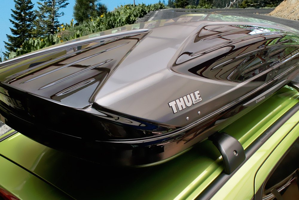 ... Thule Black Roof Cargo Boxes