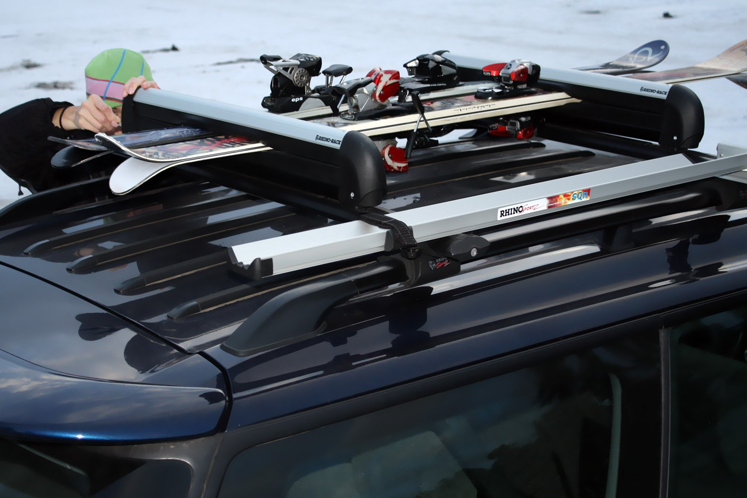 Roof Ski Racks Rooftop Snowboard Carriers Carid Com