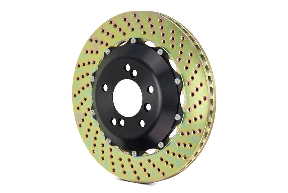 performance brake rotors drilled slotted 2 piece floating. Black Bedroom Furniture Sets. Home Design Ideas