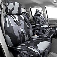 Camouflage Custom Seat Cover