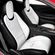 Premium Leather Custom Seat Cover with Inserts