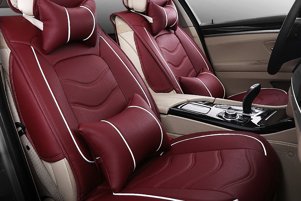 Premium Leather Custom Seat Covers
