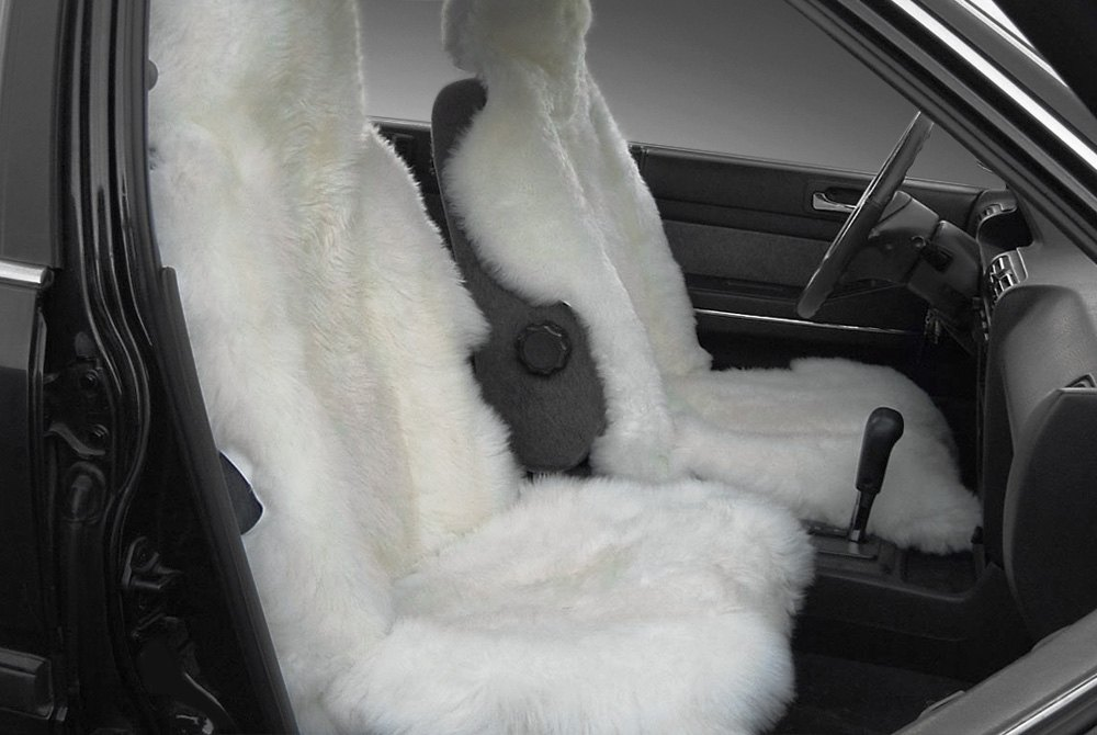 N.z.sheepskin Car Seat Covers Fur Seat Covers For Ca...