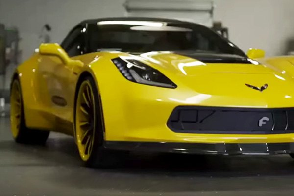 Forgiato Active Grille for Corvette C7