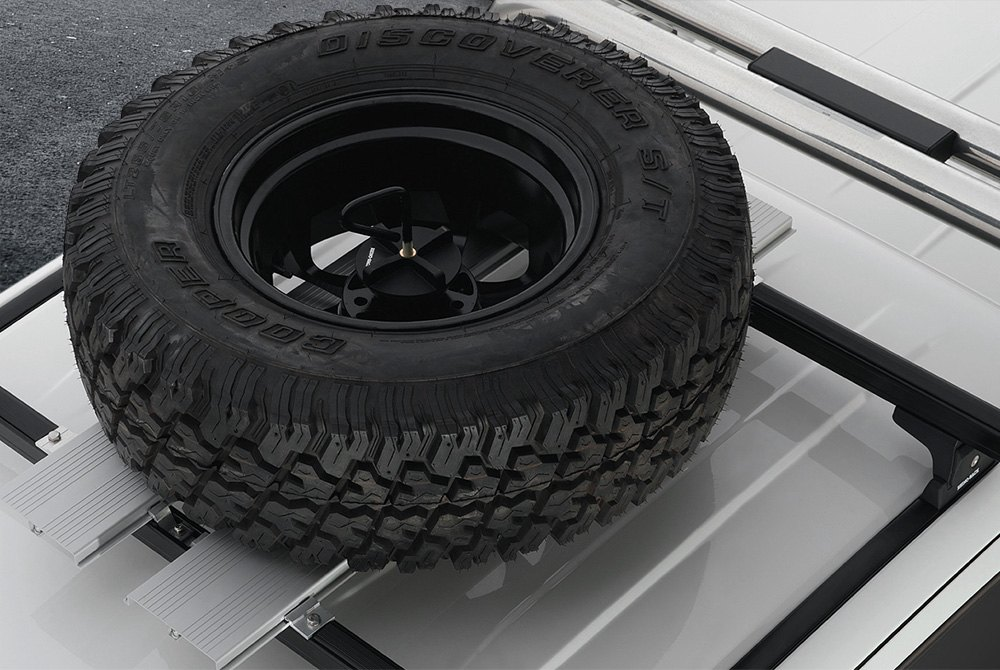 02c9dad01534 Roof Mounted Spare Tire Carriers - CARiD.com