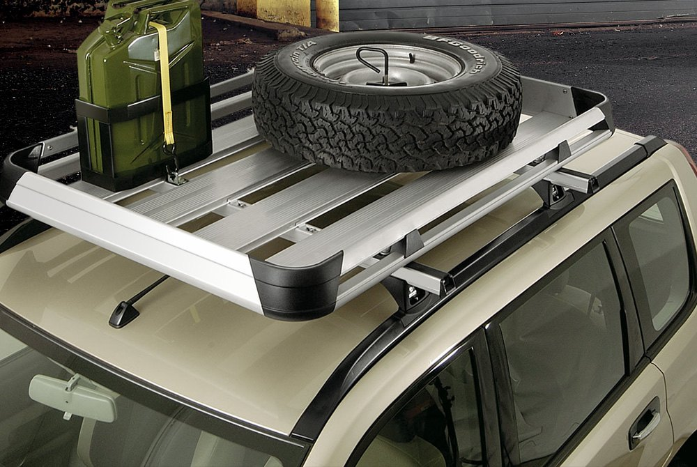 Roof Mounted Spare Tire Carriers