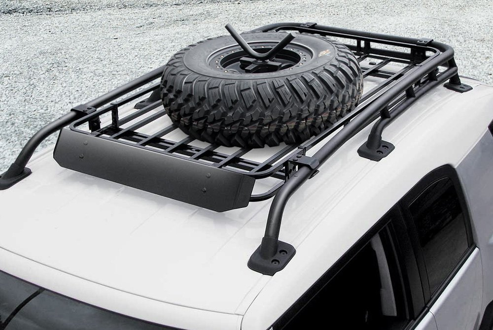 ... Roof Mounted Tire Carriers ...