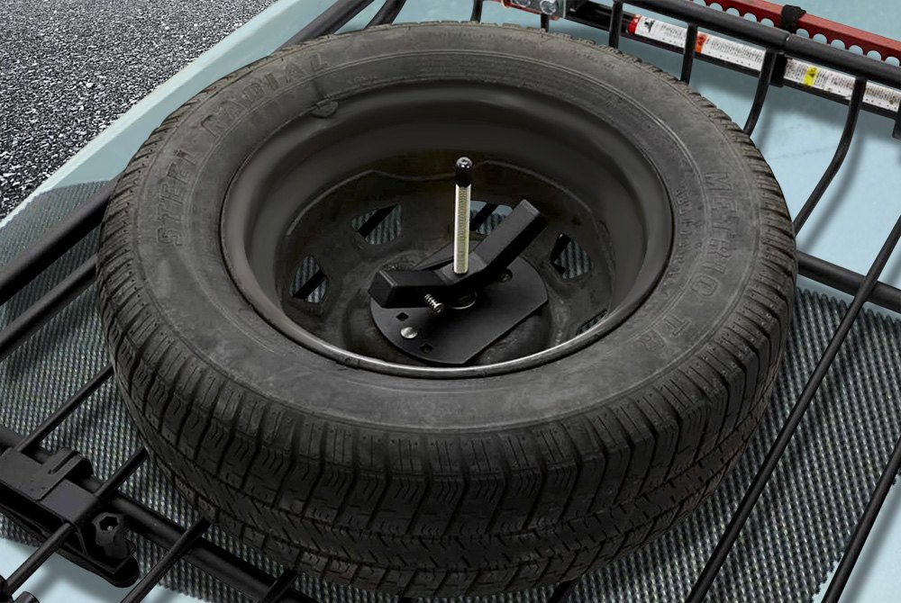 Roof Mounted Spare Tire Carriers Carid Com