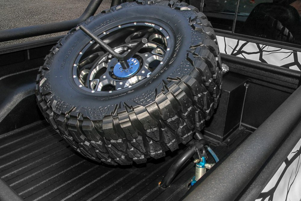Truck bed mounted spare tire carriers carid truck bed mounted spare tire carrier sciox Choice Image