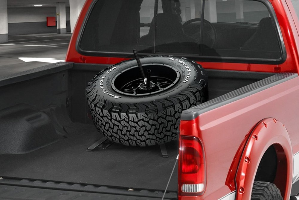 Truck bed mounted spare tire carriers carid truck bed mounted tire carrier publicscrutiny Gallery