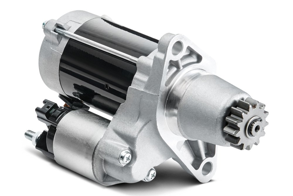 Starter Motor Components Functions