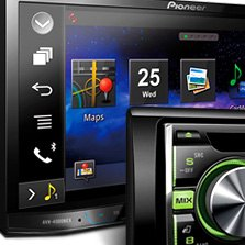 Pioneer Mixtrax Car Stereo