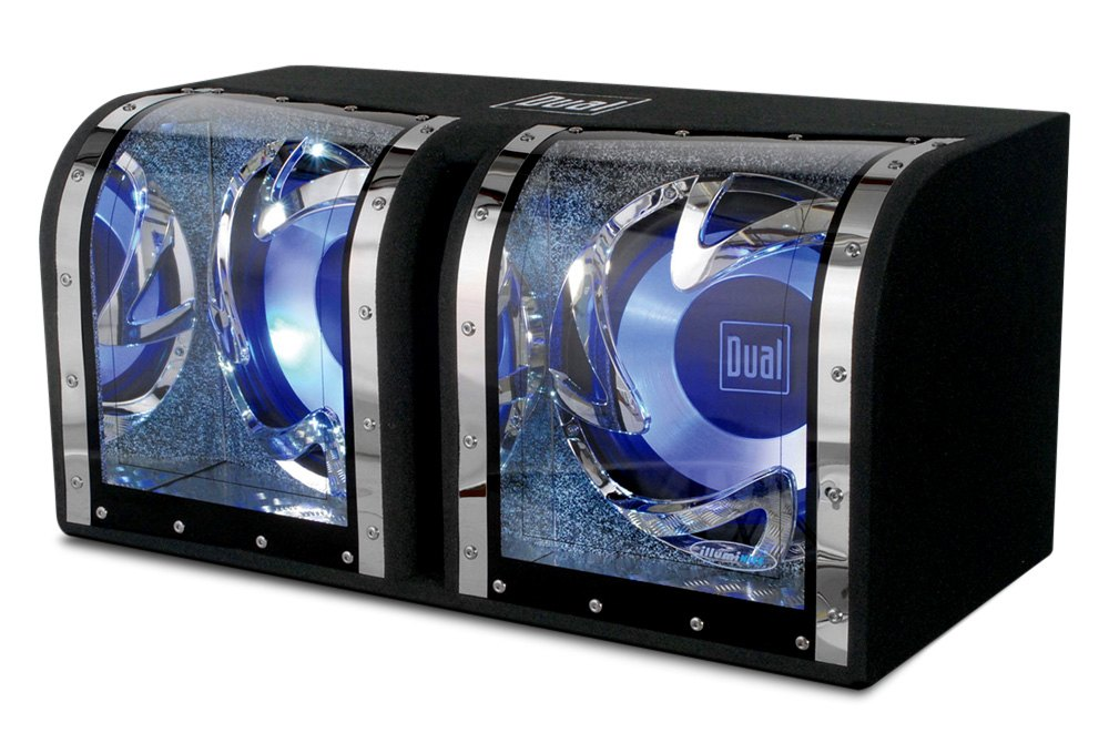 Subwoofers, Bandpass Enclosures and Amplified. - Dual Electronics