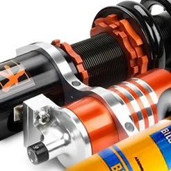 KSport® - Lowering Coilover Kit with Reservoir