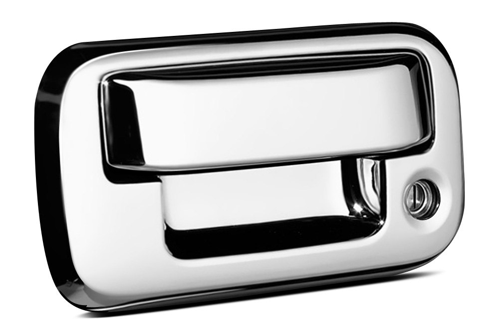Chrome Tailgate Handles  sc 1 st  CARiD.com & Chrome Tailgate Handles | Covers LEDs Replacement Handles u2013 CARiD.com