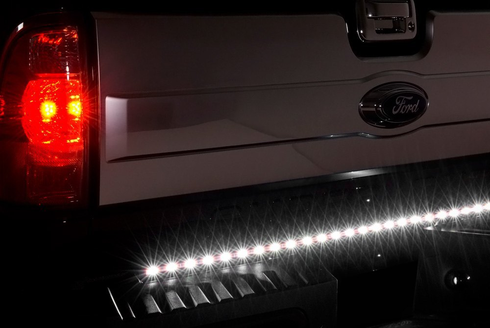 tailgate light bars led, sequential, strobe, plug \u0026 play \u2013 carid com PlasmaGlow Tailgate Light Bar tailgate light bar