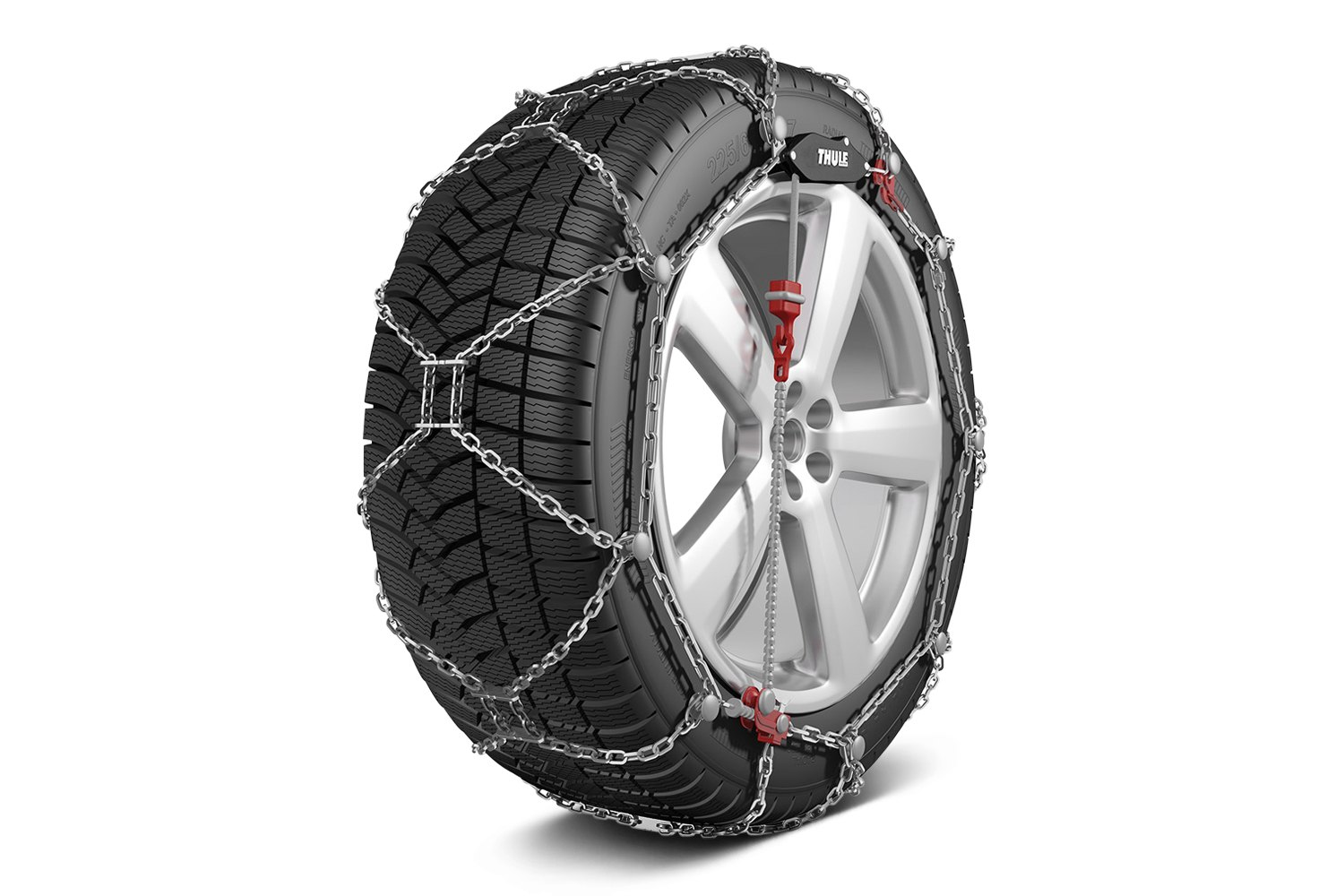 Snow Tire Chains Cars Pickups Suvs Heavy Duty Trucks