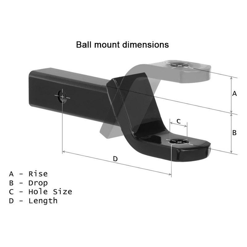 Draw-Tite 2706 Utility 1 Ball Mount