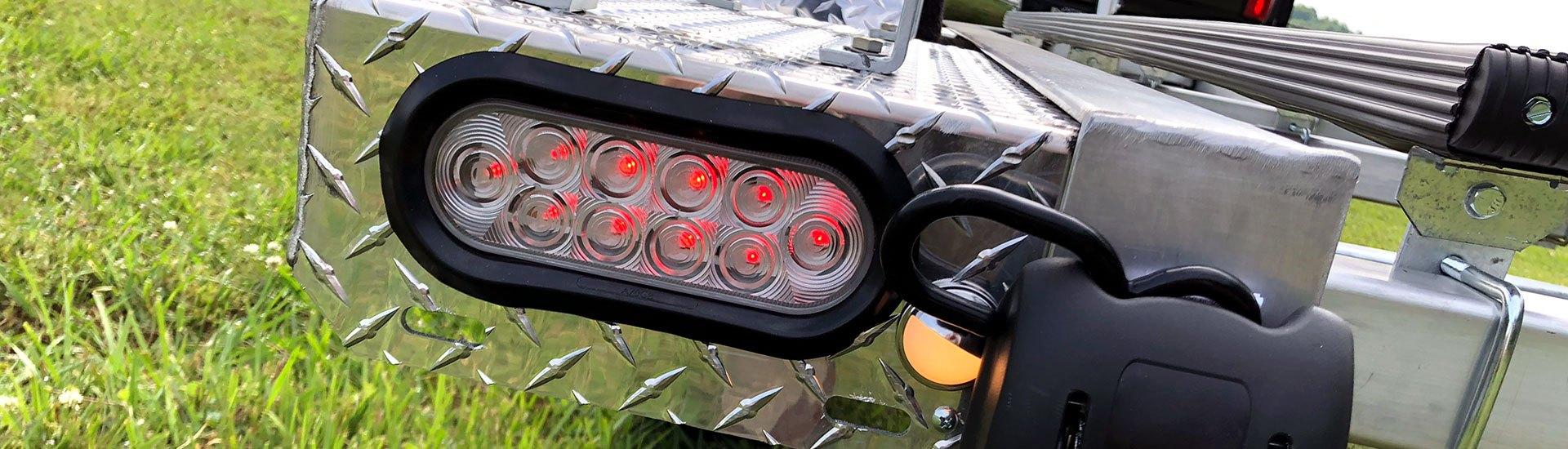 trailer backup light wiring trailer lights led  waterproof  submersible  complete kits  trailer lights led  waterproof