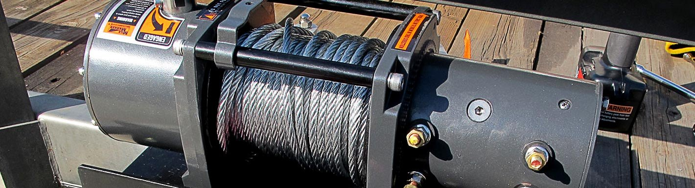 Trailer Winches | Electric, Manual, 12V, 1 Speed, 2-Speed
