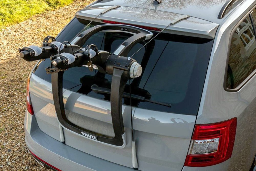 Vehicle Bicycle Rack ... Thule® - 2 Bikes Trunk Mount Bike Rack ...