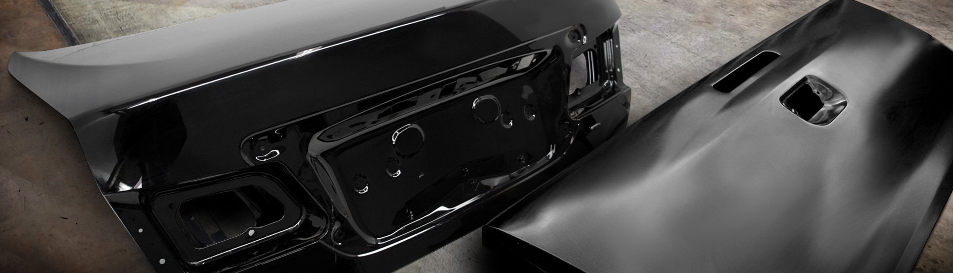 replacement trunks tailgates components at carid com