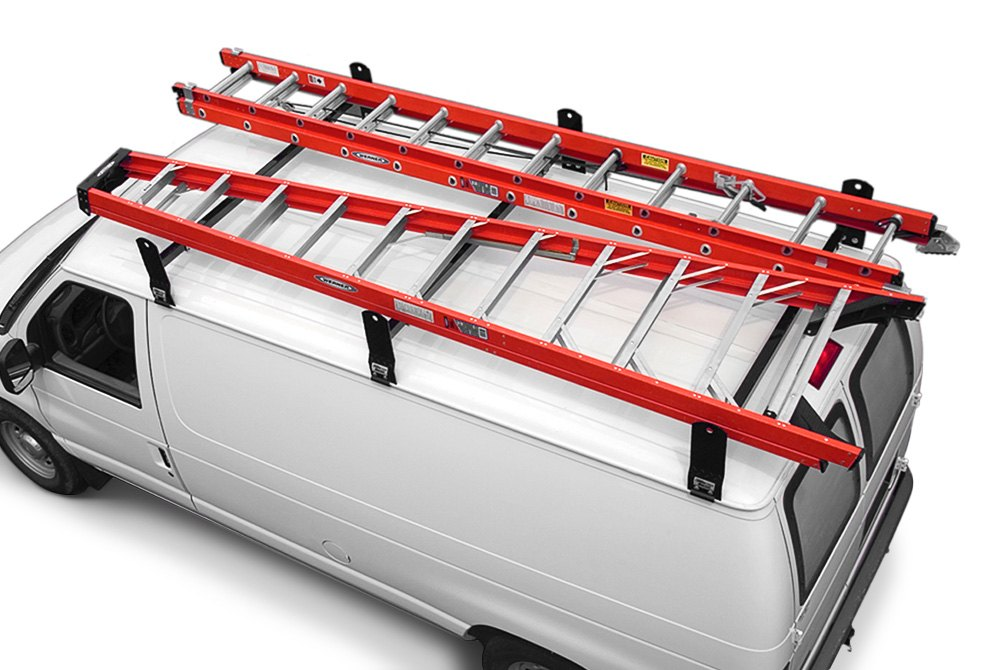 Van Ladder Racks Roof Drop Down Cross Member Carid Com
