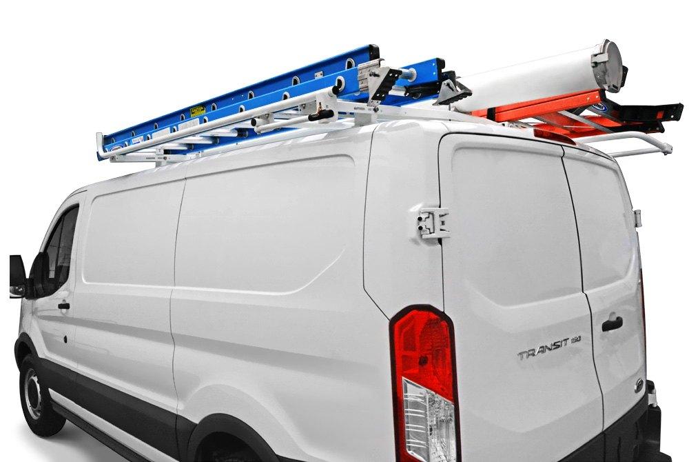 Van Roof Racks >> Van Ladder Racks Roof Drop Down Cross Member Carid Com